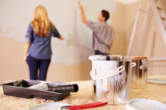 墙面涂料涂装施工过程中的注意事项