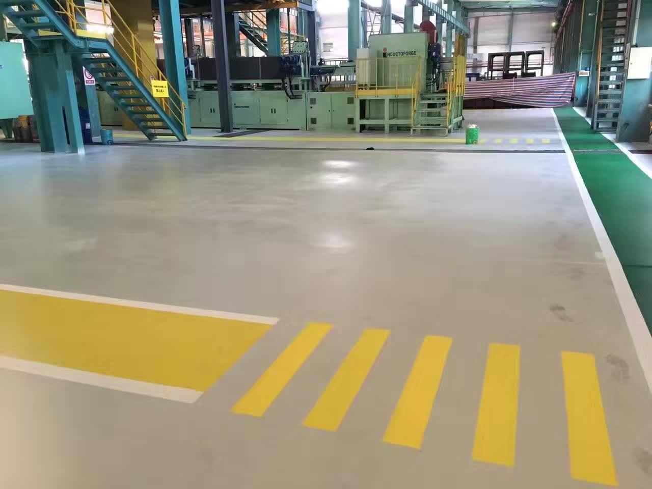 地坪涂料在工业企业应用要求