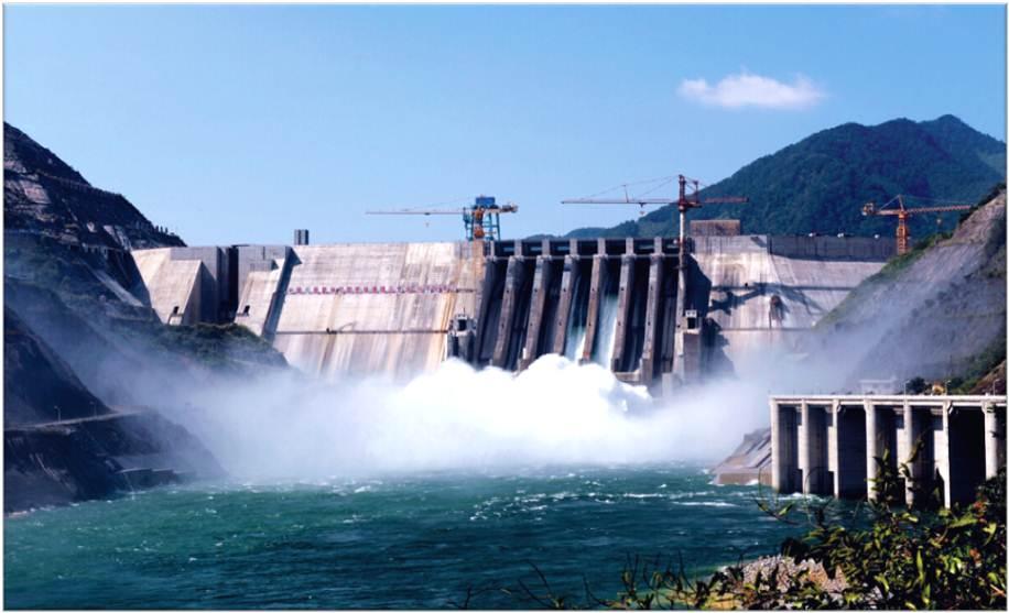 哥拜耳水性无机矿物涂料应用于溪洛渡水电站工程项目