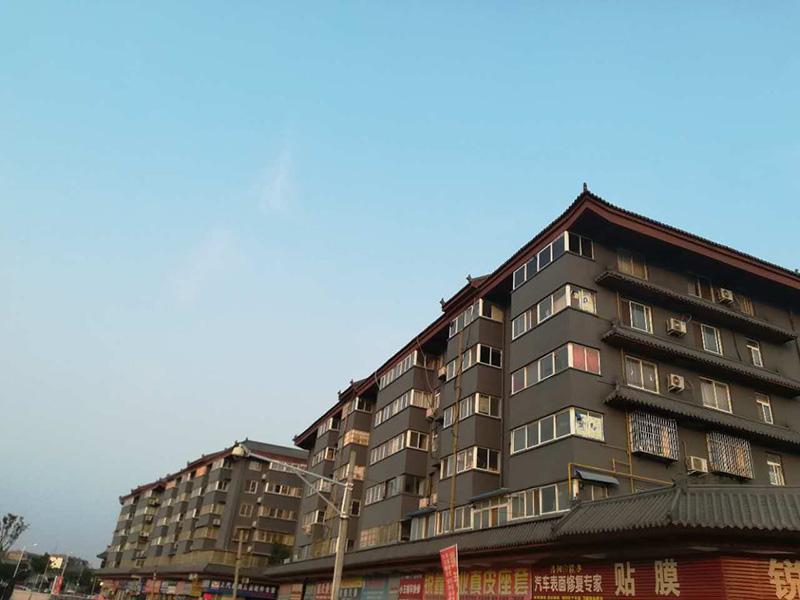 【河南】洛阳旧城改造应用哥拜耳水性无机矿物外墙涂料