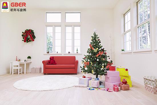 欢乐圣诞甜蜜祝福 选择哥拜耳涂料让家温馨满满