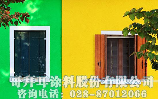 外墙涂料颜色应用重要性以及外墙色彩搭配技巧
