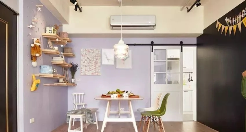 室内背景墙面颜色就该这么搭配,如此甚美!