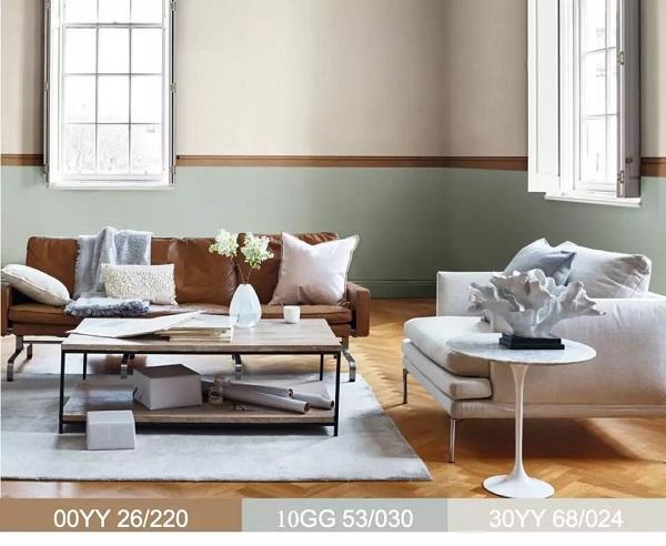 一样的琥珀黄,四种不一样的家居客厅风格