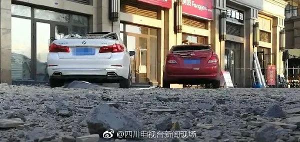 小区外墙脱落砸坏车辆,外墙用涂料更安全
